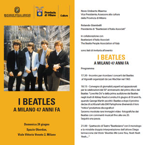 Beatles milano 2012
