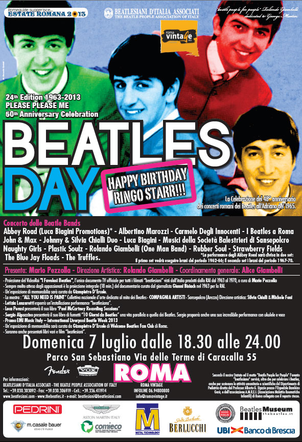 Beatles day Roma 2013